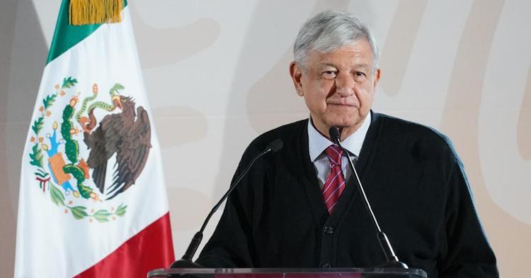 Presidente Andrés Manuel López Obrador durante la presentación del Programa de la Zona Libre de la Frontera Norte en Tijuana