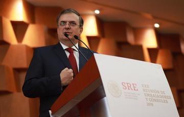 Mensaje inaugural del Canciller Marcelo Ebrard
