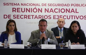 Reunión de Secretarios Ejecutivos de los Consejos Estatales de Seguridad Publica