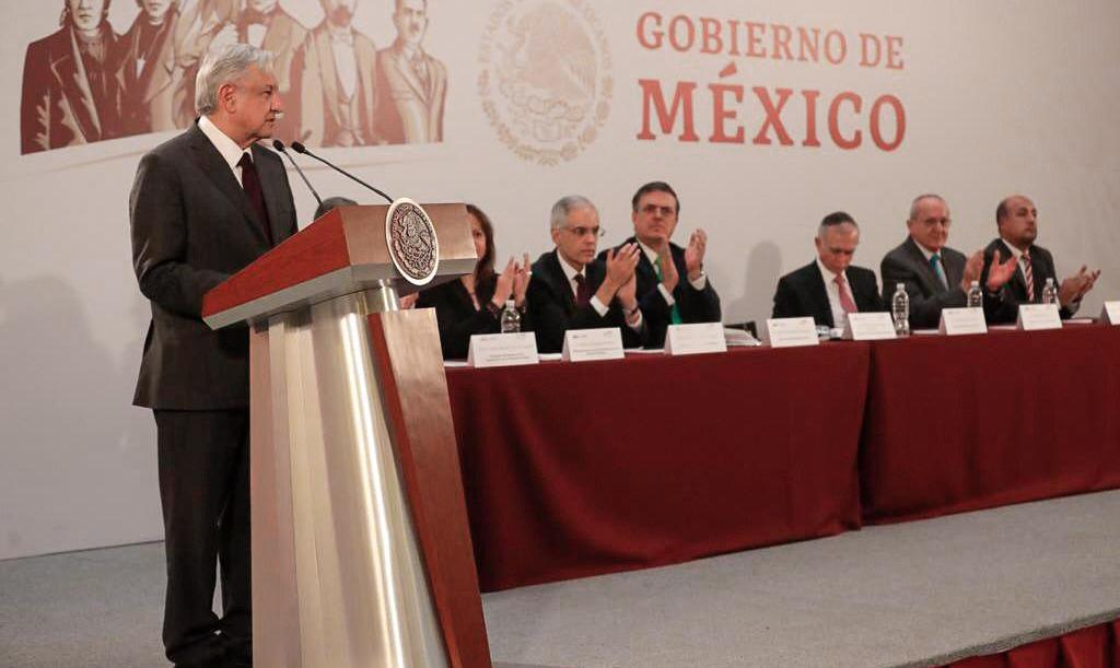 Mensaje del presidente Andrés Manuel López Obrador durante la reunión con embajadores y cónsules