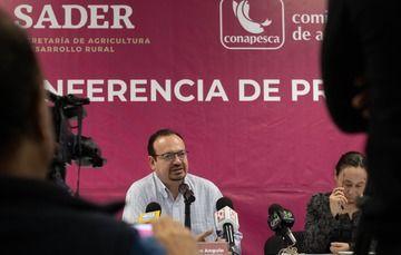 El comisionado de Pesca, en su primer encuentro con los representantes de los medios de comunicación, aseguró que habrá atención especial al sur-sureste del país.