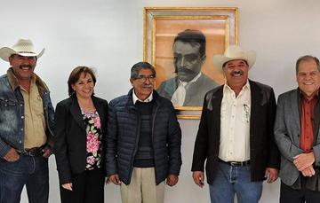 Reunión con integrantes de la Comisión de Desarrollo y Conservación Rural, Agrícola y Autosuficiencia Alimentaria de la Cámara de Diputados.