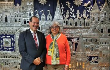 La Secretaria Graciela Márquez Colín se reunió con el Gobernador Martín Orozco Sandoval