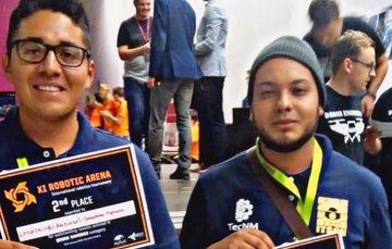 Los estudiantes del TecNM campus Ciudad Hidalgo, compitieron en la categoría de Drones.
