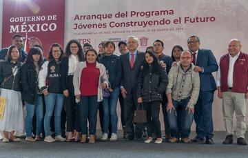 Fotografía oficial Arranque Jóvenes Construyendo el Futuro