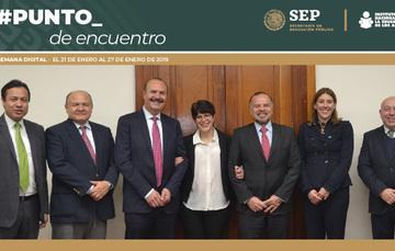 NOMBRA LA JUNTA DE GOBIERNO AL EQUIPO DIRECTIVO DEL INEA