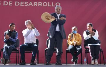 Presidente Andrés Manuel López Obrador presentó los Programas Integrales de Desarrollo en Acambay, Estado de México