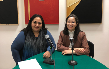 Emb. Reyna Torres Mendivil y Mtra. Liliana Padilla Roríguez