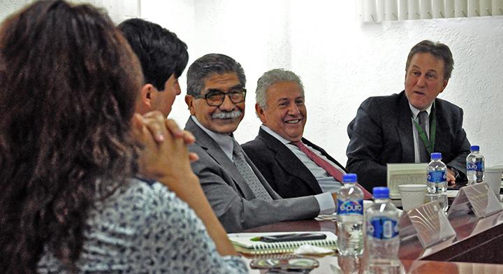 DESTACADA Durante la reunión para el fortalecimiento de la coordinación entre las instituciones del sector agrario dependientes de la SEDATU.