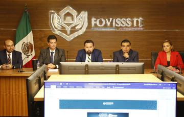 A las 09:05 horas del 24 de enero, se abrió el proceso de registro de Solicitud de Inscripción para el Otorgamiento de Créditos Tradicionales FOVISSSTE
