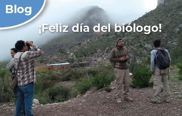 ¡Feliz día del biólogo!