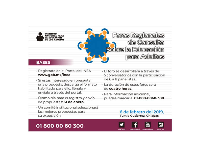 Foros Regionales de Consulta sobre Educación para Adultos