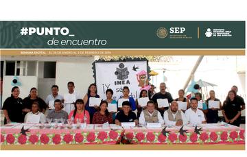 Primera Reunión Ordinaria del Colegio de Directores y Enlaces del INEA