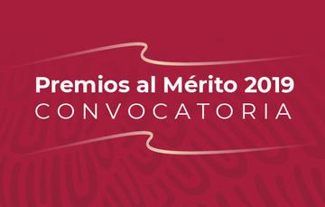 Abierta la convocatoria para Premios al Mérito 2019