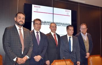 Representantes del Sector Salud se reunieron en la Conferencia de prensa.