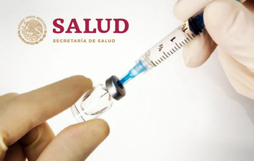 Asegurado el abasto de vacunas contra el sarampión: Alcocer Varela