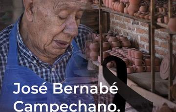 FONART lamenta la pérdida del Maestro artesano José Bernabé Campechano.