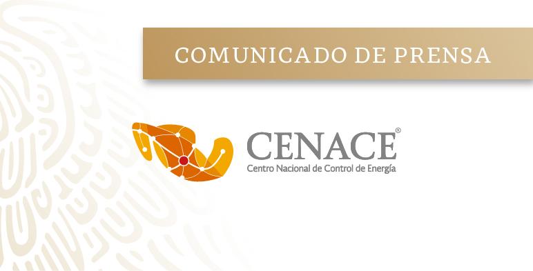 CENACE informa la cancelación de la SLP-1/2018