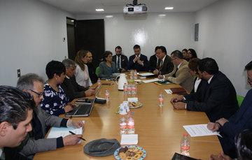 Reunión de representantes de la sociedad civil con el nuevo equipo del Secretariado Ejecutivo del Sistema Nacional de Seguridad Pública.
