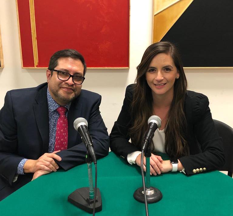 Ernesto Céspedes Oropeza y Ana Teresa Sáenz