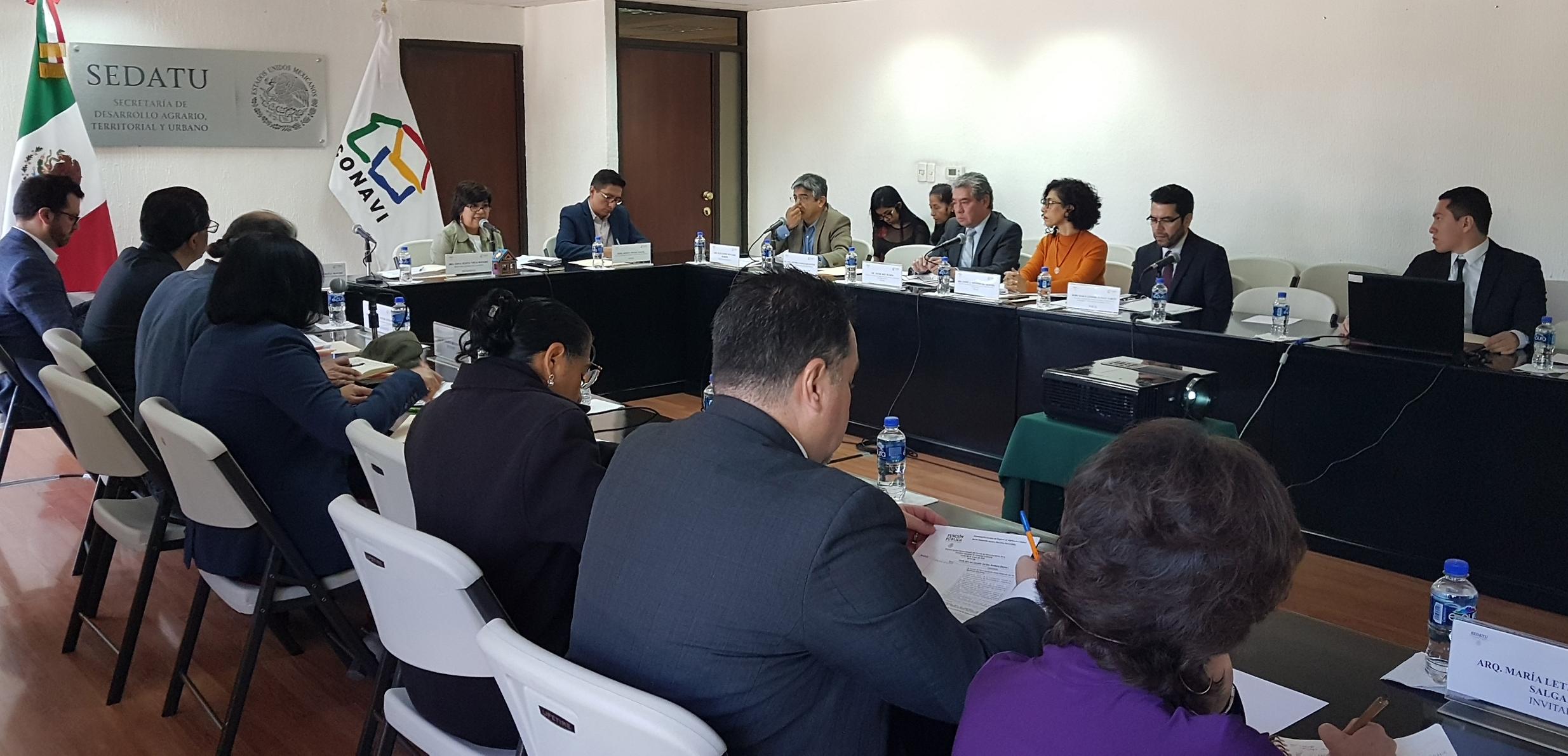 Sesión de Instalación y Primera Sesión Extraordinaria del Comité de Financiamiento.