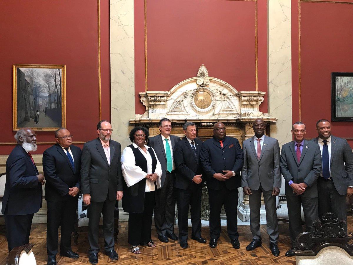 México, Uruguay y países de la Comunidad del Caribe presentan Mecanismo de Montevideo