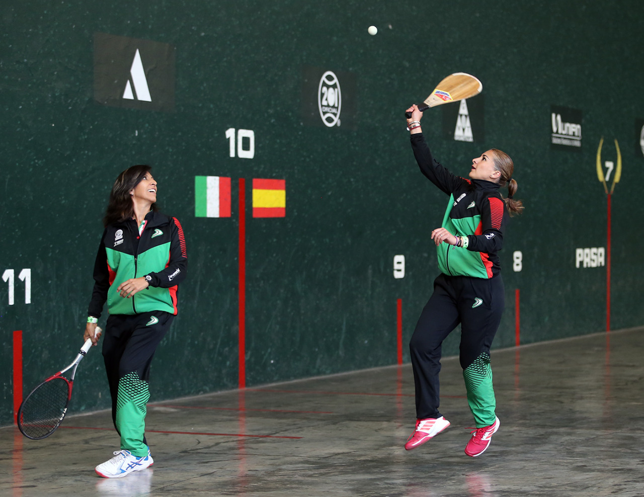 Las preseleccionadas de frontón afinan detalles para conseguir su boleto a Lima 2019 y defender su título del 2011