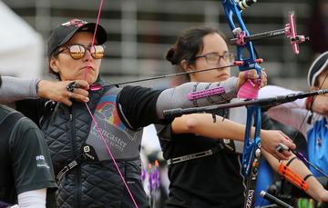 La medallista olímpica se prepara en el CNAR a fin de llegar en óptimas condiciones a sus siguientes compromisos