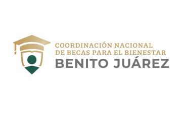 Logo Benito Juárez, Becas para el Bienestar