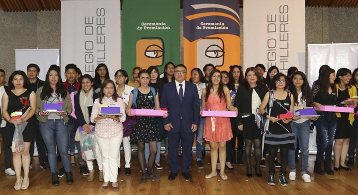 alumnos y docentes premiados en 2018