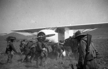 Foto de un avión de 1929