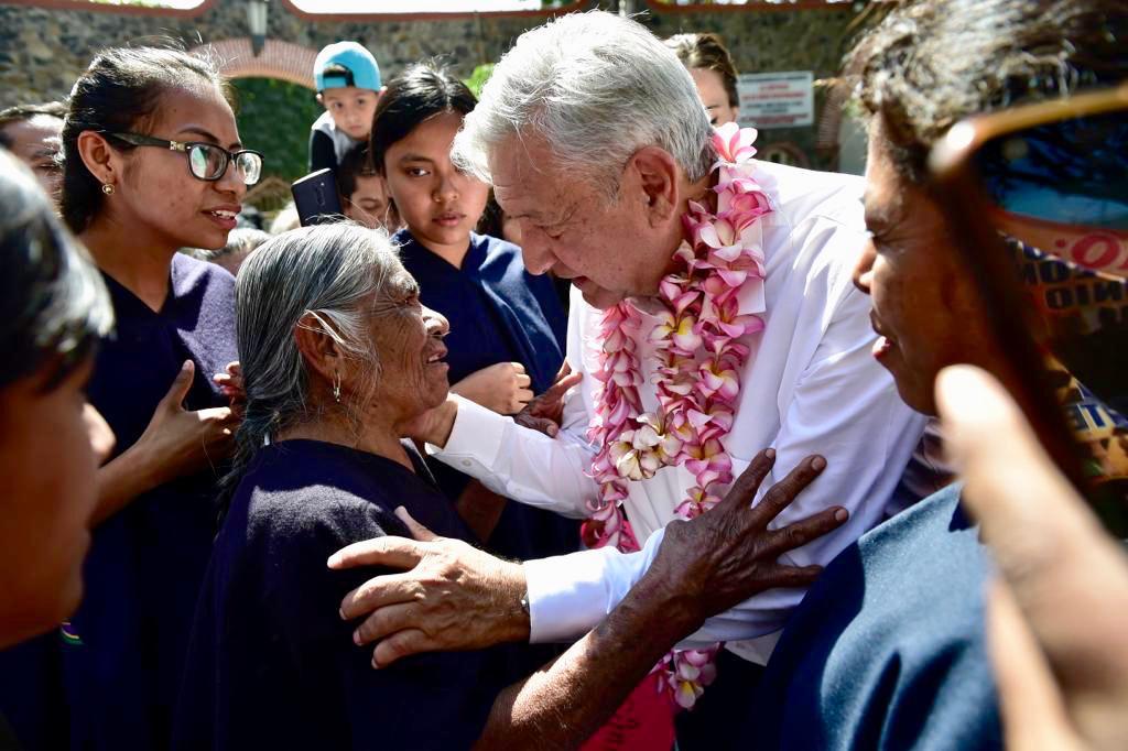 El Presidente Andrés Manuel López Obrador en Cuautla, Morelos.
