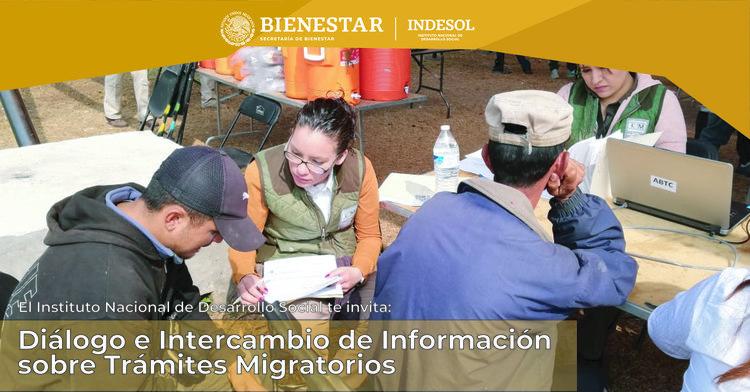 Invitación al Diálogo e Intercambio de Información sobre Trámites Migratorios
