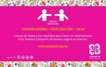 Invitación a participar en la Convocatoria de los Premios Compartir