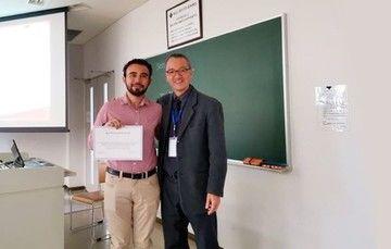 Becario de tesis de doctorado del INEEL obtiene el Best Presentation Award en la novena Conferencia Internacional en Energías Renovables y Limpias en Tokio, Japón.