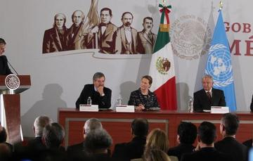 The Mexican government signs Framework Agreement with UNOPS