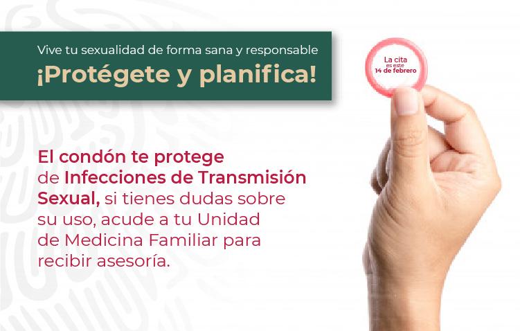 Preservativo O Condón Masculino Instituto Mexicano Del