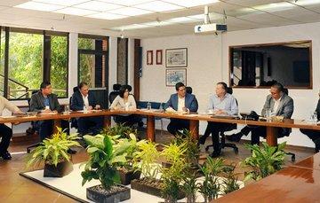 Visita al IMTA de los representantes de ANEAS