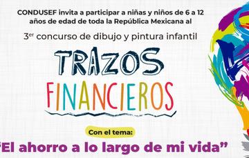 """3er Concurso de dibujo y pintura infantil """"Trazos Financieros"""""""