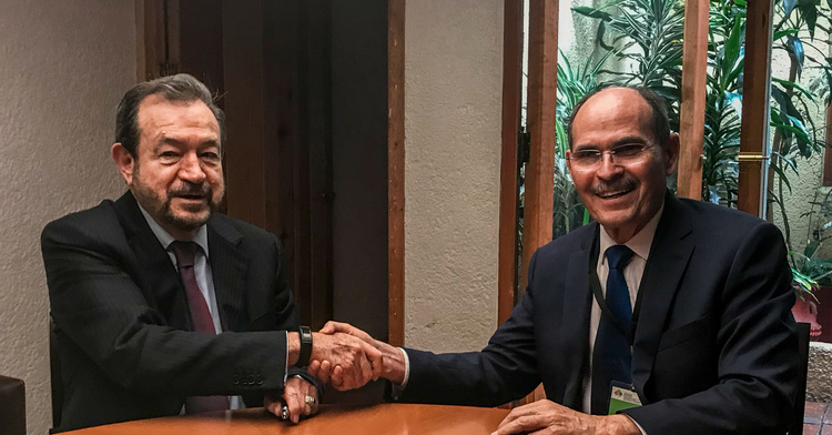 Firman convenio de coordinación Financiera Nacional de Desarrollo y CONAZA