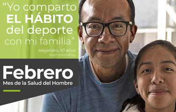 """Yo comparto EL HÁBITO del deporte con mi familia"""