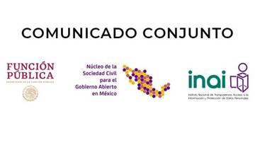 México reactiva el proceso nacional de la Alianza para el Gobierno Abierto