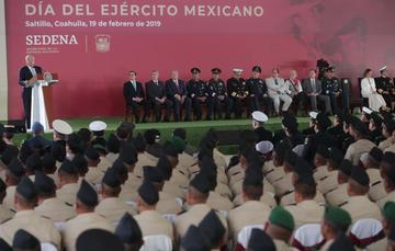 Mensaje del presidente Andrés Manuel López Obrador en Saltillo