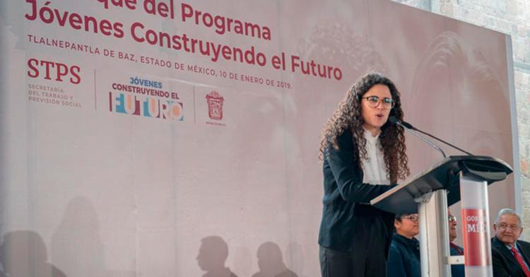 Luisa María Alcalde Luján, Secretaria del Trabajo y Previsión Social