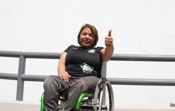 La sirena de silla de ruedas se prepara para el selectivo nacional