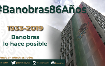 #Banobras86Años