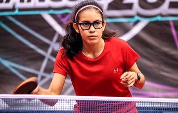 La quintanarroense de 16 años de edad, adelantó que la selección de tenis de mesa tendrá fogueo internacional previo al certamen