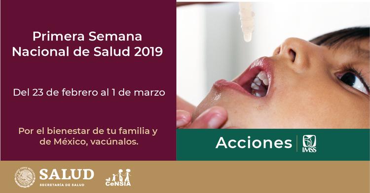 Con más de 7 mil puestos de vacunación, el IMSS brindará atención a la población derechohabiente y no derechohabiente.