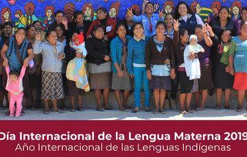 Postal Día Internacional de la Lengua Materna 2019 Año Internacional de las Lenguas Indígenas
