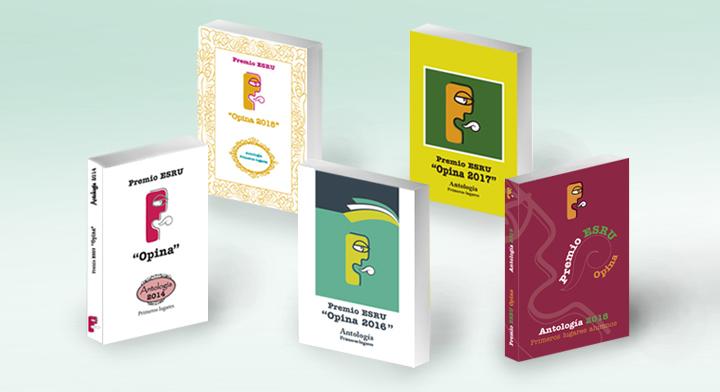 Imagen de los cuatro libros